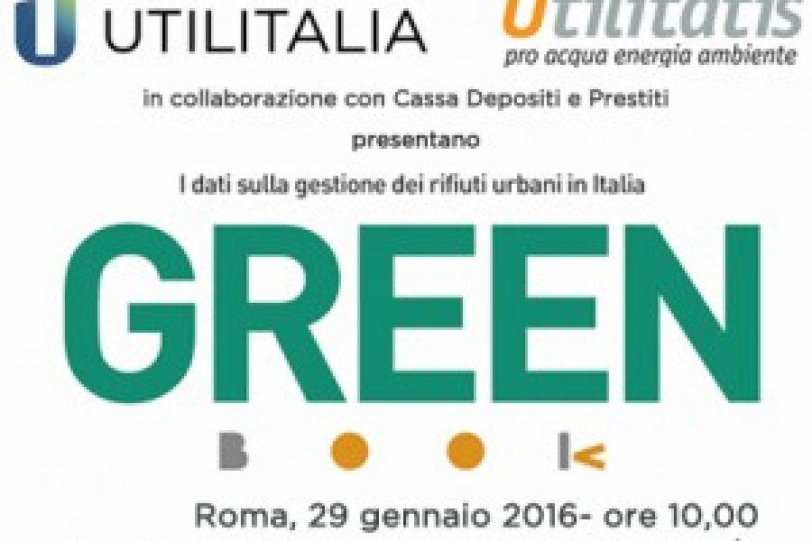 Presentazione GREEN BOOK 2016