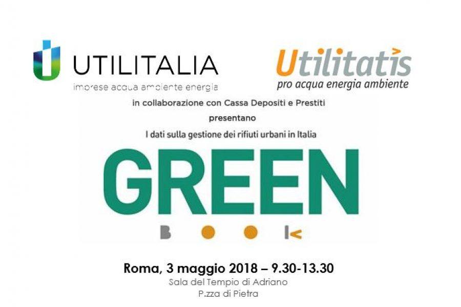 """3 maggio 2018, Presentazione Green Book – """"I dati sulla gestione dei rifiuti urbani in Italia"""""""
